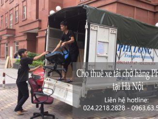 Dịch vụ cho thuê xe tải chở hàng tại phố Tô Ngọc Vân