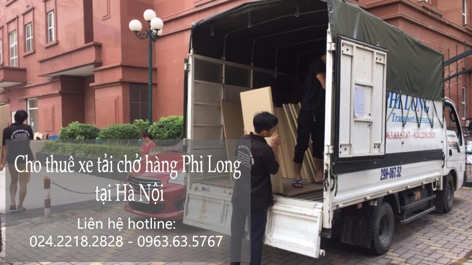 Dịch vụ taxi tải Phi Long tại phố Yên Thịnh