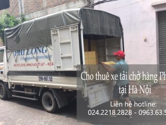 Dịch vụ taxi tải Phi Long tại Nguyễn Du