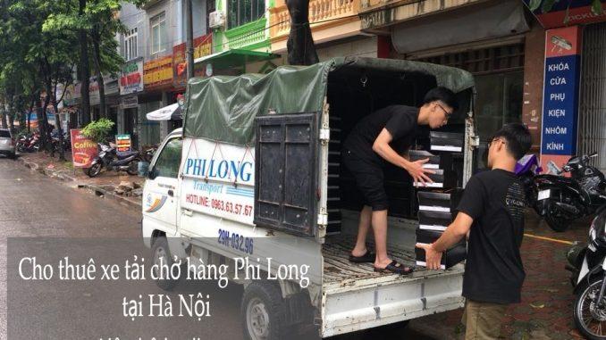 Dịch vụ xe tải Phi Long chở hàng tại đường Quang Tiến
