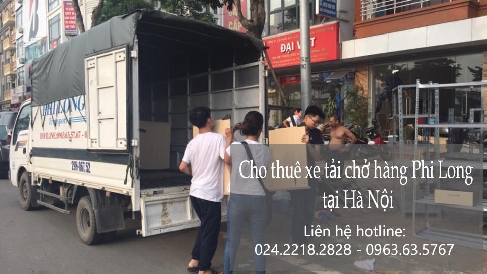 Dịch vụ cho thuê xe tải bắc nam tại phố Yên Bình