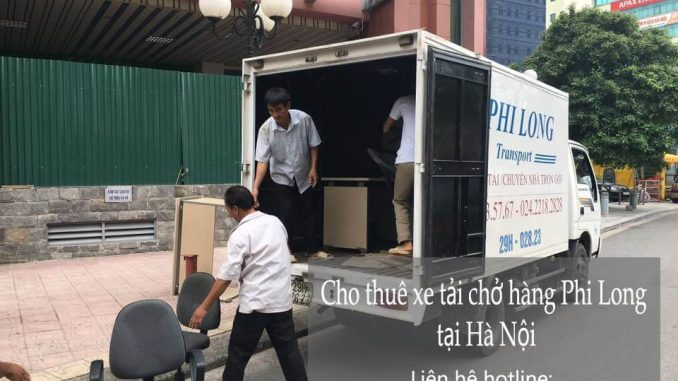 Dịch vụ taxi tải Phi Long tại phố Hàng Đậu