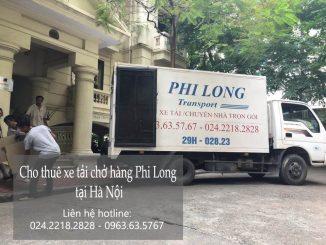 Dịch vụ cho thuê xe tải Phi Long tại phố Cầu Gỗ