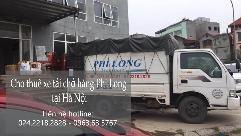 Dịch vụ cho thuê xe tải 1 tấn tại phố Hồng Hà