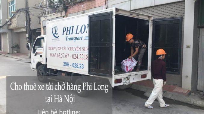 Dịch vụ Taxi tải Phi Long tại phố Hạ Yên