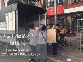 Dịch vụ taxi tải Phi Long tại phố Lãng Yên