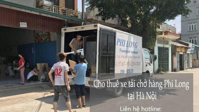 Dịch vụ taxi tải Phi Long tại phố Cửa Nam