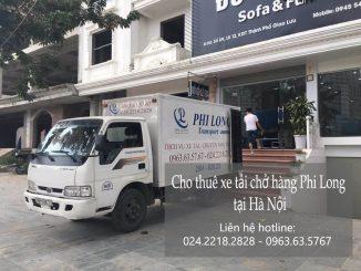 Dịch vụ taxi tải Phi Long tại phố Đỗ Quang