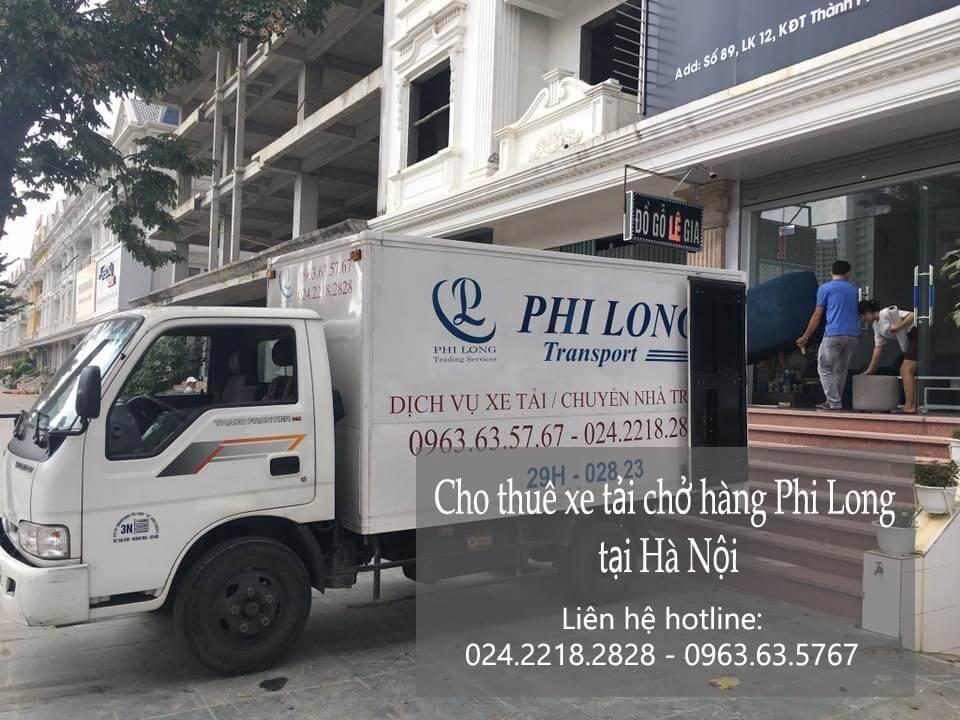 Dịch vụ taxi tải Phi Long tại phố Hồng Mai