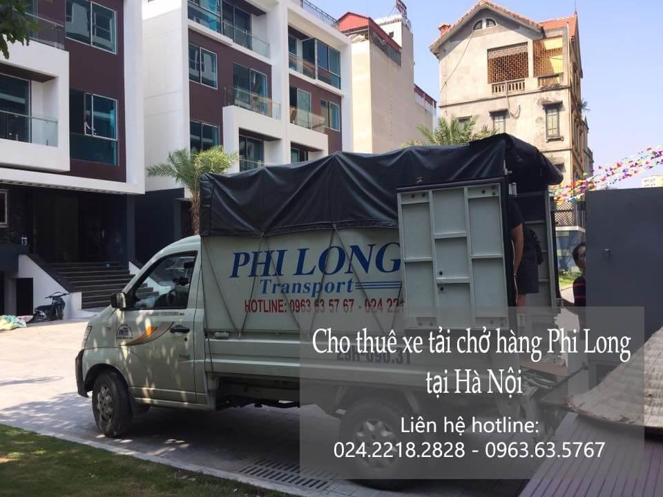 Dịch vụ taxi tải Phi Long tại phố Mai Xuân Thưởng