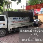 Dịch vụ taxi tải Phi Long tại phố Đông Thái
