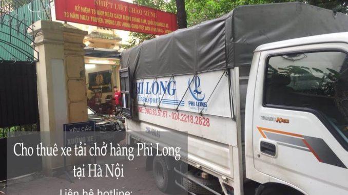 Dịch vụ taxi tải Phi Long tại phố Thể Giao