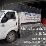 Taxi tải giá rẻ Phi Long tại phường Hoàng Liệt