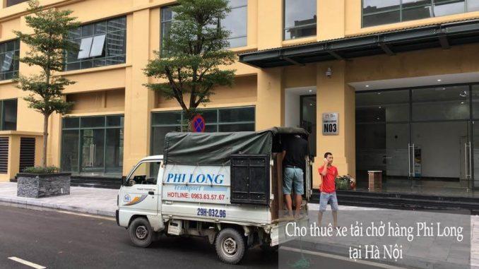 Dịch vụ taxi tải Phi Long tại phố Cầu Mây