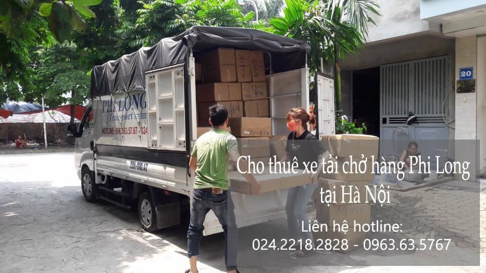 Dịch vụ taxi tải Phi Long tại phố Chùa Láng