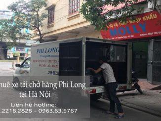 Dịch vụ cho thuê xe tải tại phố Hoàng Văn Thái