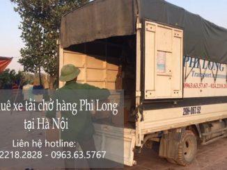 Dịch vụ taxi tải Phi Long tại phố Hàng Chiếu