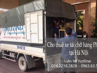 Dịch vụ taxi tải Phi Long tại phố Chả Cá