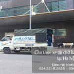 Dịch vụ taxi tải Phi Long tại phố An Xá