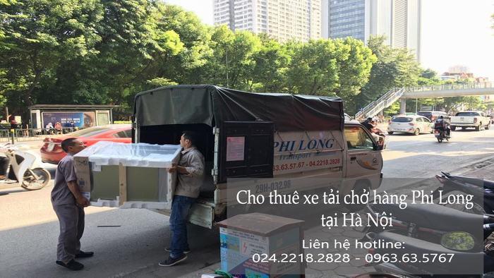 Dịch vụ taxi tải Phi Long tại phố Đình Ngang