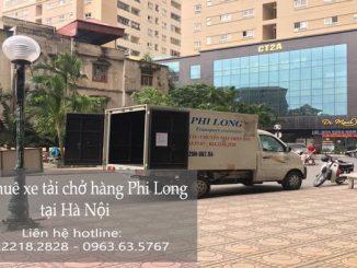 Taxi tải Phi Long tại phố Đường Thành
