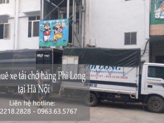 Dịch vụ taxi tải Phi Long tại phố Đoàn Thị Điểm