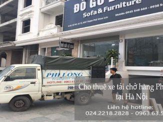 Taxi tải Phi Long tại phố Ấu Triệu