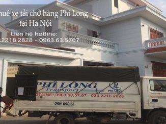 Dịch vụ taxi tải Phi Long tại phố Tư Đình