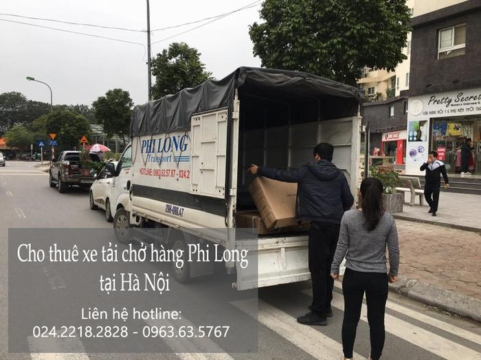 Taxi tải Phi Long tại phố Hàng Bông