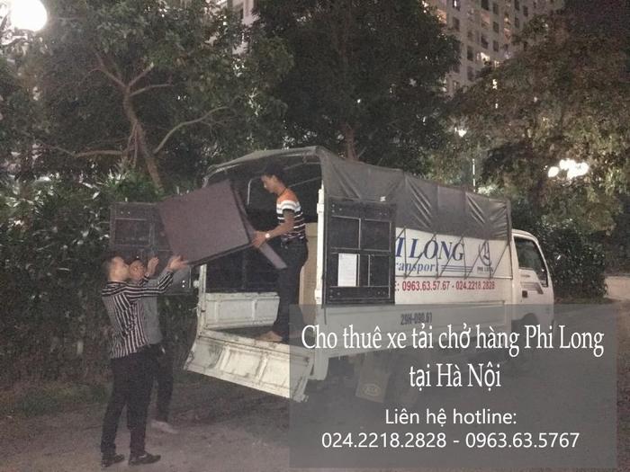 Dịch vụ taxi tải Phi Long tại phố Kim Mã Thượng