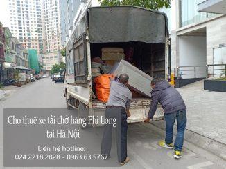 taxi tải Phi Long tại phố Nguyễn Phạm Tuân