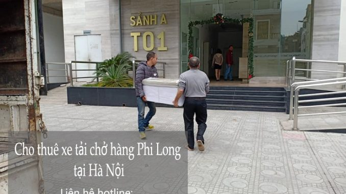 Taxi tải Phi Long tại phố Giang Văn Minh