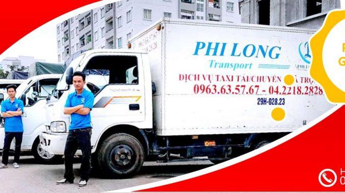 Dịch vụ taxi tải Phi Long giảm giá 20% nhân dịp tết Kỷ Hợi