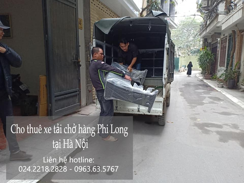 Dịch vụ taxi tải Phi Long tại phố Kim Hoa 2019