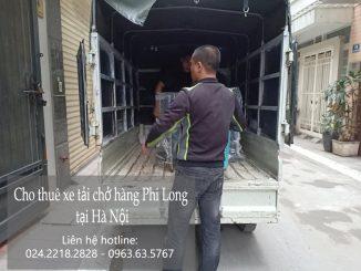 Taxi tải Phi Long tại phố Hồng Hà