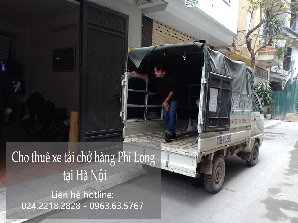Dịch vụ taxi tải Phi Long tại phố Vũ Trọng Phan 2019