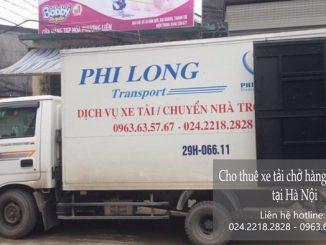 Taxi tải Phi Long tại phố Quỳnh Mai