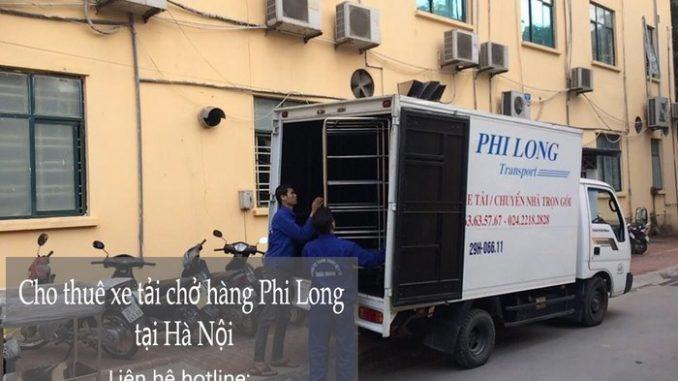 Taxi tải Phi Long tại phố Đoàn Khuê