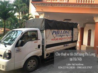 Dịch vụ taxi tải Phi Long tại phố Nguyễn An Ninh