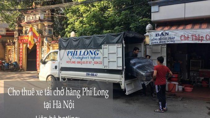 Dịch vụ taxi tải Phi Long tại phố Mai Hắc Đế