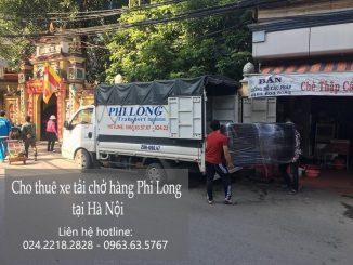Dịch vụ taxi tải Phi Long tại phố Lò Đúc