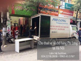 Taxi tải Phi Long tại phố Hà Huy Tập