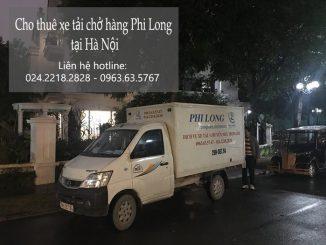 Taxi tải Phi Long tại phố Kim Quan