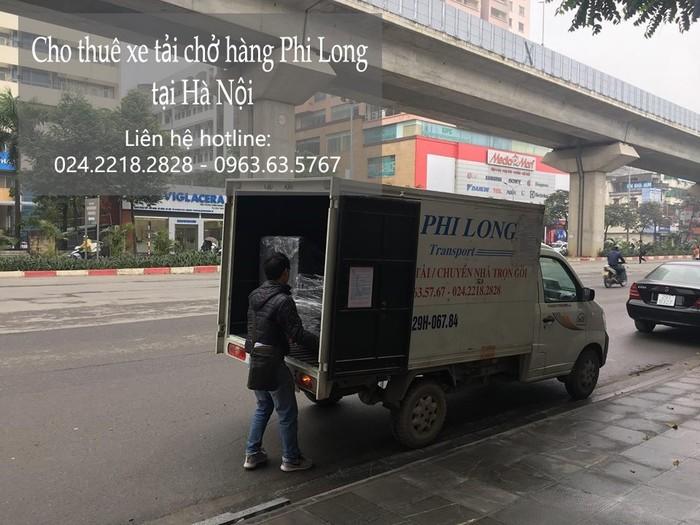 Dịch vụ taxi tải Phi Long tại phố Nguyễn Cao
