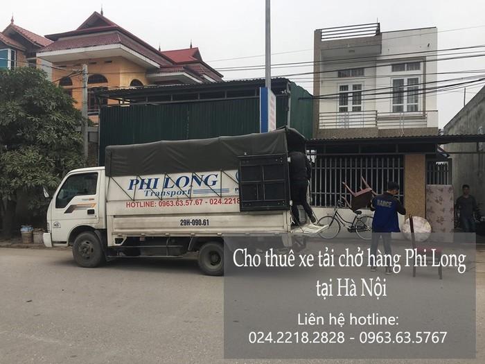 Dịch vụ taxi tải Phi Long tại phố Quỳnh Lôi