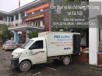 Taxi tải Phi Long tại phố Nguyễn Huy Nhuận
