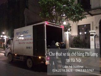 Taxi tải Phi Long tại phố Chính Trung