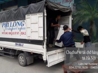 Taxi tải Phi Long tại phố Nguyễn Lam