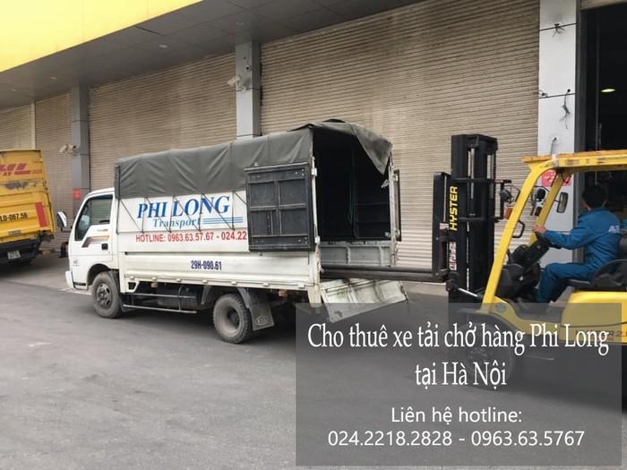 Taxi tải Phi Long tại phố Nam Đuống