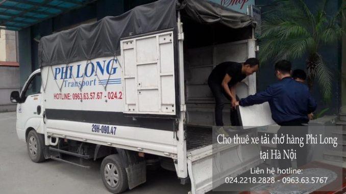 Dịch vụ taxi tải giá rẻ tại phố Nhân Hòa